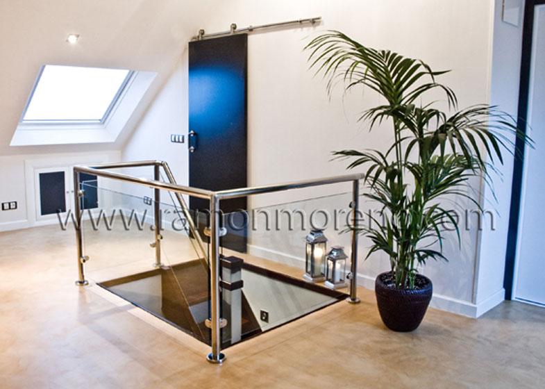 Barandillas barandillas para escaleras barandillas horizontales barandillas de dise o - Escaleras ramon moreno ...