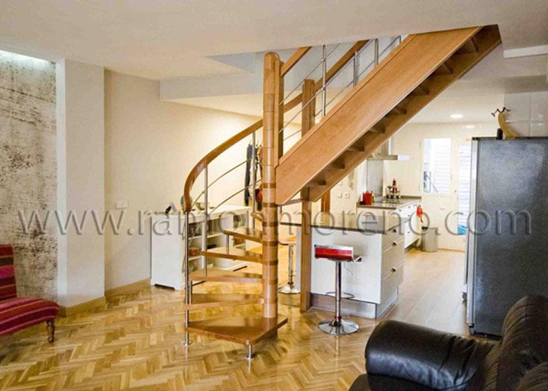 escaleras madera zancas madera en cascada escaleras modernas caracol y tramos rectos