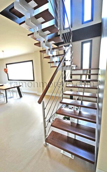 Escaleras zancas met licas escaleras zancas metal - Escaleras metalicas interior ...