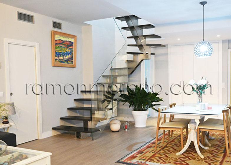 Fabrica de escaleras de interior a medida venta escaleras escaleras de dise o tienda escaleras - Escaleras de diseno interior ...
